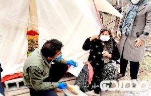 اعزام تیمهای جهادی مرکز بهداشت بویراحمد به مناطق زلزلهزده سیسخت