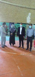آیین تجلیل از جهادگران واکسیناسیون کرونا در یاسوج